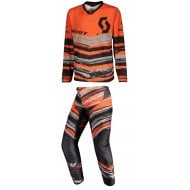 COMBO INFANTIL SCOTT 350 NOISE COLOR NARANJA/NEGRO