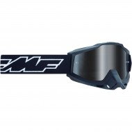 100% FMF ROCKET GOGGLES 2021 YOUTH BLACK COLOUR - SILVER MIRROR LENS