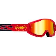 100% FMF FLAME GOGGLES 2021 RED COLOUR - RED MIRROR LENS