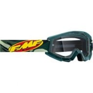 FMF 100% ASSAULT GOGGLES 2021 CAMOUFLAGE COLOUR - CLEAR LENS