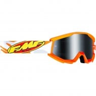 YOUTH 100% FMF ASSAULT GOGGLES 2021 GREY COLOUR- SILVER MIRROR LENS