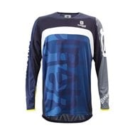 HUSQVARNA RAILED SHIRT BLUE 2021