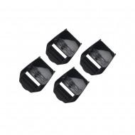 TCX BUCKLE RECEIVER FOR BOOTS COMP EVO, PRO 2.1, PRO 1.1, X-MUD COLOUR BLACK