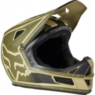CASCO BICICLETA INTEGRAL FOX RAMPAGE COMP COLOR BRONCE / VERDE