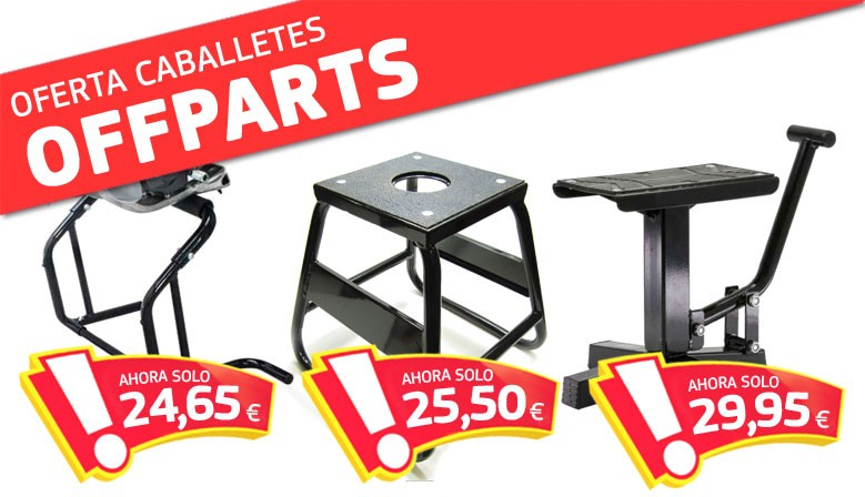OFERTA CABALLETES OFFPARTS