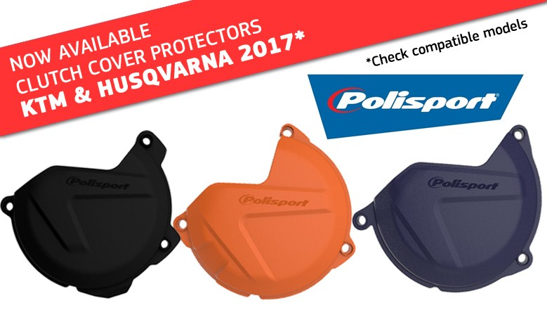 CLUTCH COVER PROTECTOR FOR KTM & HUSQVARNA 2017
