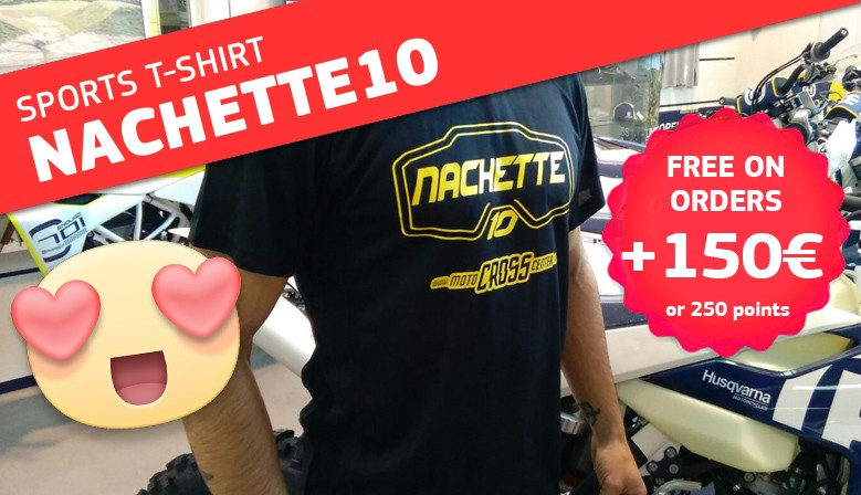 FREE NACHETTE10 TSHIRT IN ORDERS +150 EUROS