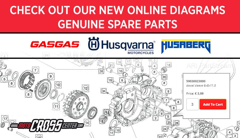 NEW SPARE PART SYSTEM ONLINE HUSQVARNA/GASGAS