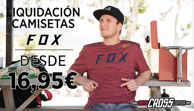 LIQUIDACION CAMISETAS FOX