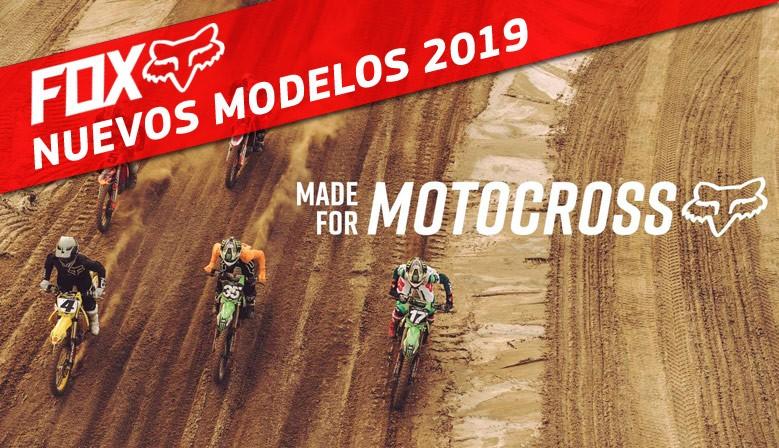 NEW SEASON FOX 2019 - MADE FOR MOTOCROSS